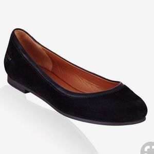 Givenchy Trim Ballet Flats in Black Suede